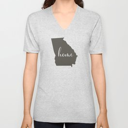 Georgia is Home Unisex V-Neck