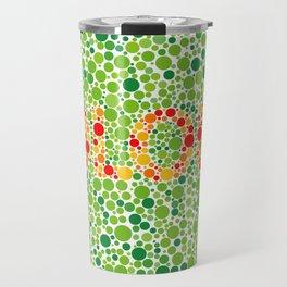Colour Blindness Travel Mug