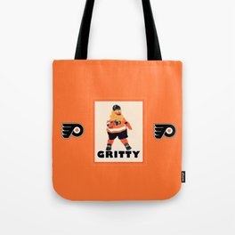 Gritty the new mascot of the Flyers in Philadelphia Tote Bag
