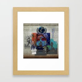 """CITY OF SIN """"The Alien Nation Collection"""" Framed Art Print"""
