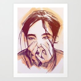 Human Behavior Art Print