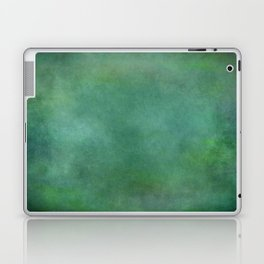 Looking into the depths of green Laptop & iPad Skin