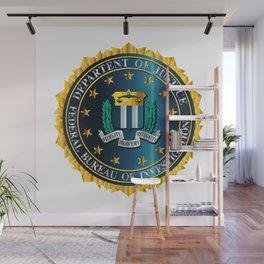 FBI Seal Mockup Wall Mural