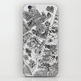 historic city center iPhone Skin