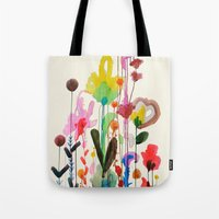 karu kara Tote Bags featuring viva by sylvie demers
