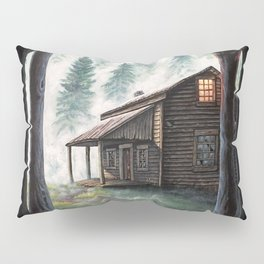 Cabin in the Pines Pillow Sham