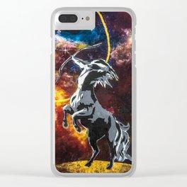 Sagittarius 1 Clear iPhone Case