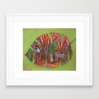 sneakers Framed Art Prints featuring Sneakers by Shawna Gilmore