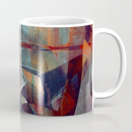 I face every hurdle, with a nervous state of mind Coffee Mug
