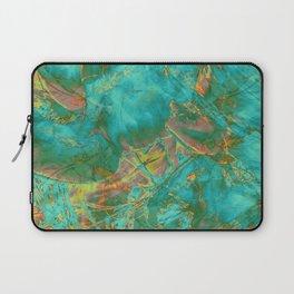 fire opal marble Laptop Sleeve