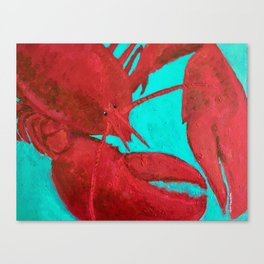 Lobster, Claws for Celebration Canvas Print