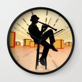 Cool Jazz 3 Wall Clock