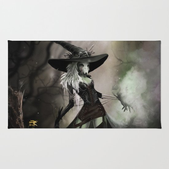 Witch Of Pendle Rug