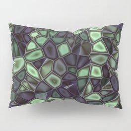Fractal Gems 04 - Emerald Dreams Pillow Sham