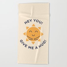 Summer, How Cute Are You! Beach Towel