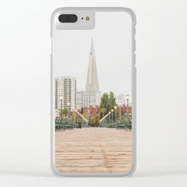 Falling in Love with San Francisco Clear iPhone Case