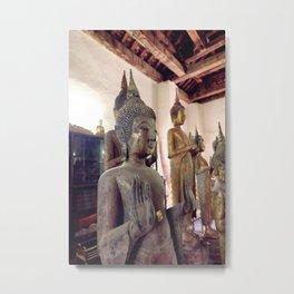 Buda Luang Prabang  Metal Print