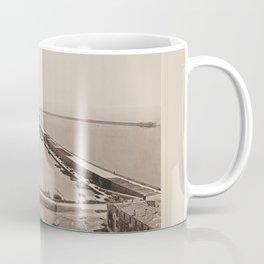 Entree du Port de Cette Les Travaux Publics de la France Coffee Mug
