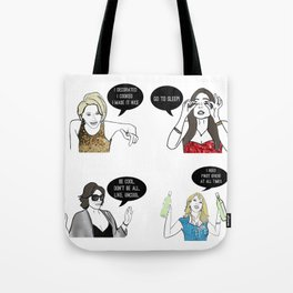 New York Women Tote Bag