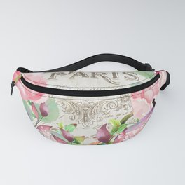 Paris Flower Market III Fanny Pack