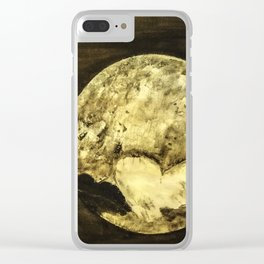 Universal Love from Pluto Clear iPhone Case