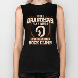 Real Grandmas Rock Climb Biker Tank
