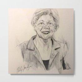 Elizabeth Warren Metal Print