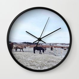 Group life II Wall Clock