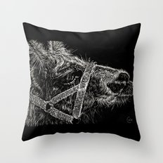 High Park Zoo Llama Throw Pillow