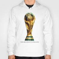 world cup Hoodies featuring World Cup by Rothko