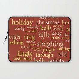 Christmas Jingle Rock Laptop Sleeve
