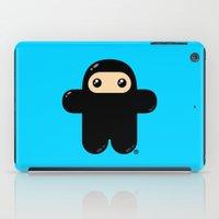 pee wee iPad Cases featuring Wee Ninja by Shawnimals