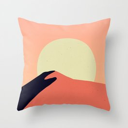 Desert Warmth Throw Pillow