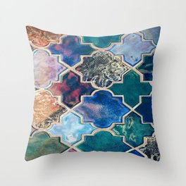 Lovely New Mexican Tile  Throw Pillow