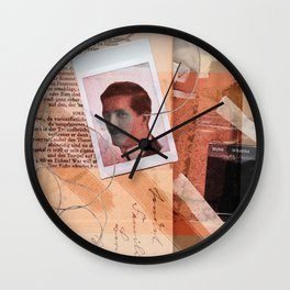 He Never Knew Wall Clock