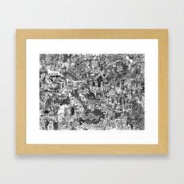 Dreaming of Innsmouth 2 Framed Art Print