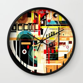 The Hannya Wall Clock