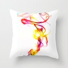 Smoke Art 81 Throw Pillow