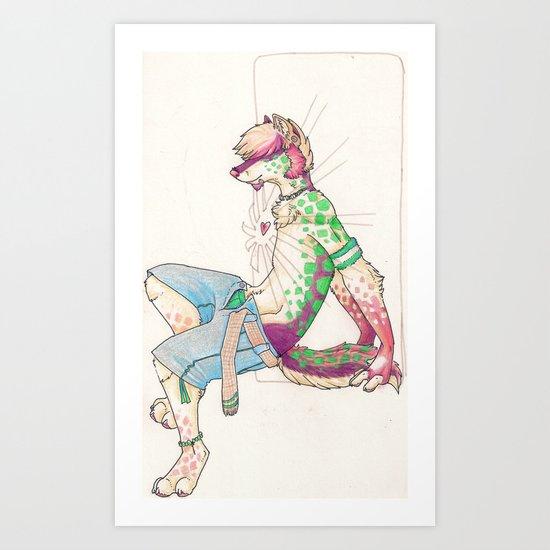 heart shine Art Print