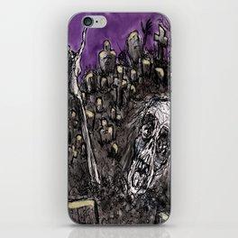 Zombies....Braaaiiinnnnsss!!! iPhone Skin