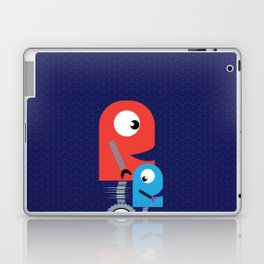 Funky Little Robots Laptop & iPad Skin