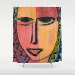 Portrait imaginaire Shower Curtain