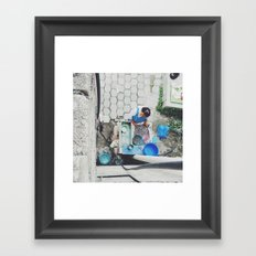 Cleaning Beans Mexico Framed Art Print