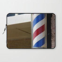 Barber Sign Laptop Sleeve