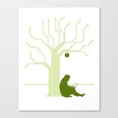 Apple CircuiTree Canvas Print