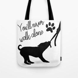 Dogwalker Tote Bag