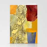 botanical Stationery Cards featuring Botanical  by Alexandra Sheldon