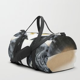 Untitled (Painted Composition 12) Duffle Bag