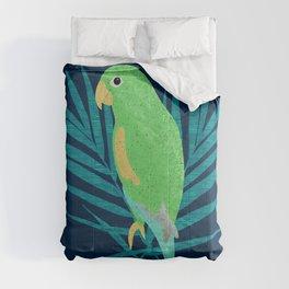 Green Parrot  Comforters
