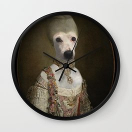 """Marie """"Chien""""toinette Wall Clock"""